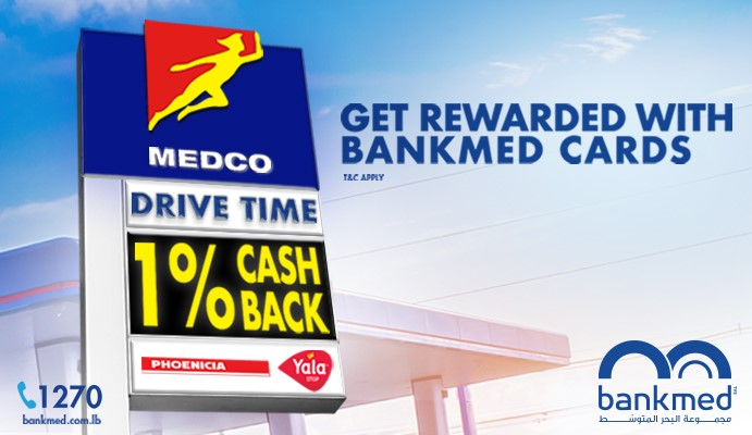 It's Drive Time ! Bankmed partners with MEDCO